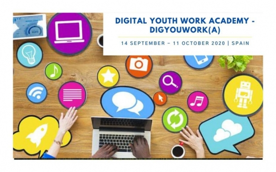 Digital Youth Work Academy:  DigYouWork(A)  from 14 September to 11 October 2020 | Spain