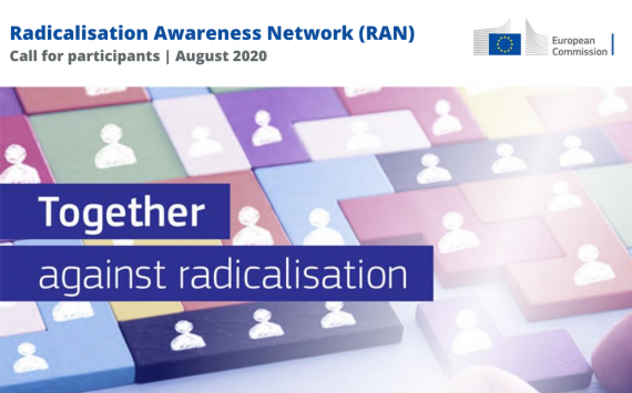 Radicalisation Awareness Network (RAN): Call for participants: August 2020